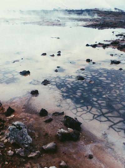 Iceland Fractals Hotspring
