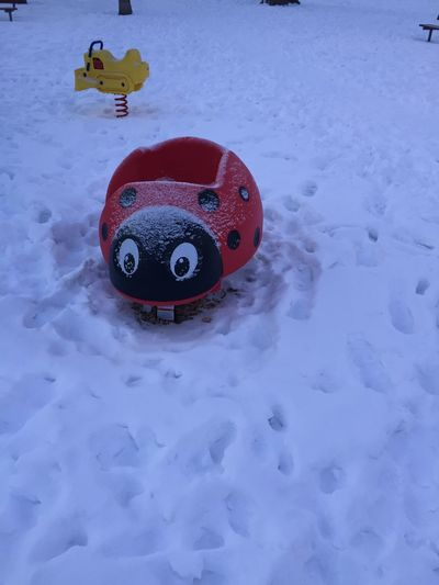 It's Cold Outside Doesn't Anyone Want To Play Ladybug Winter