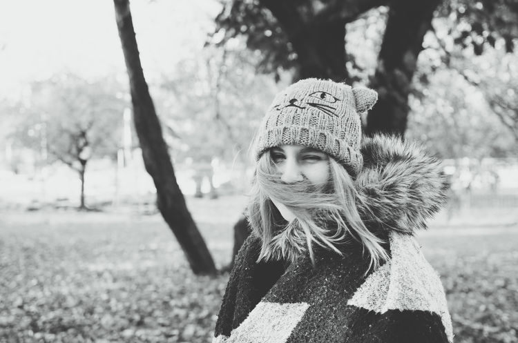 Over exposed portrait of a beautiful girl in winter clothing. Autumn Beautiful Girl Bright Squinting Sunny Winter Woman Beautiful Woman Black And White Close-up Cold Temperature Focus On Foreground Girl Happiness Headshot Leisure Activity Looking At Camera Nature One Person Outdoors Over Exposed Portrait Smiling Warm Clothing Young Woman Black And White Friday Fashion Stories