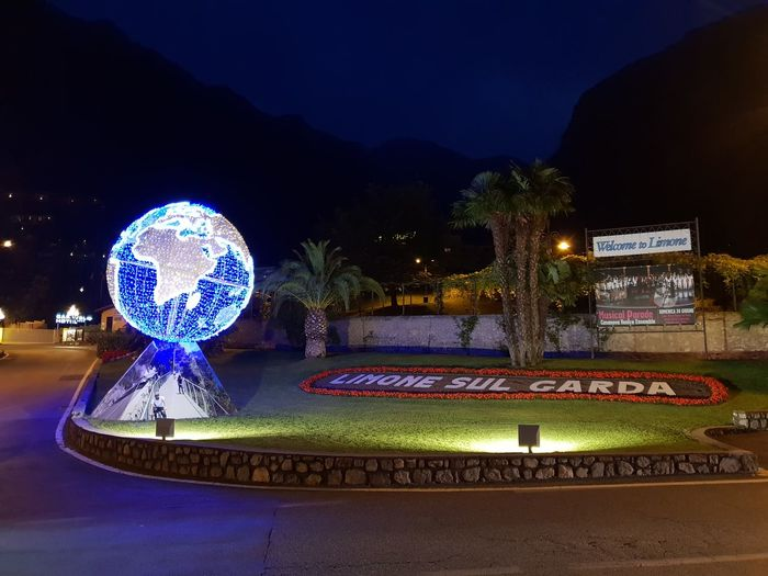Limone Limone Sul Garda Night Lights Nightphotography Architecture Blue Building Exterior Built Structure City Communication Illuminated Lighting Equipment Moon Nature Night No People Outdoors Plant Sign Sky Text Tree Water Western Script