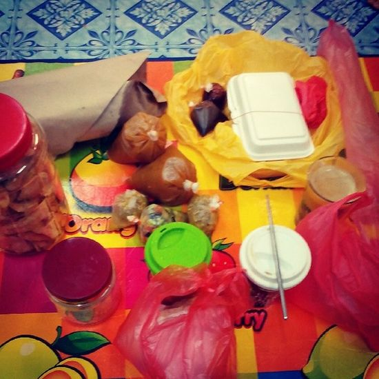 First day fasting.. Mawar