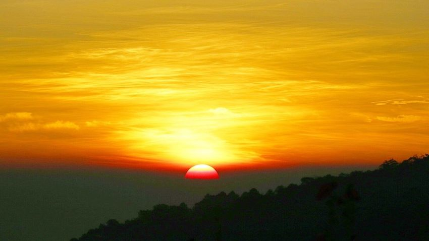 Sunset Sunset_collection Monjam Chiang Mai | Thailand Chiangmai Moutain View Mountain Sunsetlover