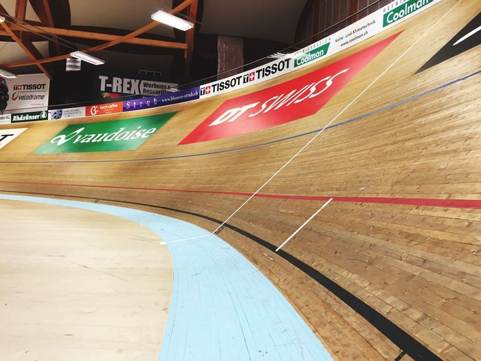 Velo Velodroom Velodrom Velodrome Bike Sport No People Court Curve Route Fun Wood Day Close-up Hardwood Floor Focus On Foreground Indoors  Wood - Material