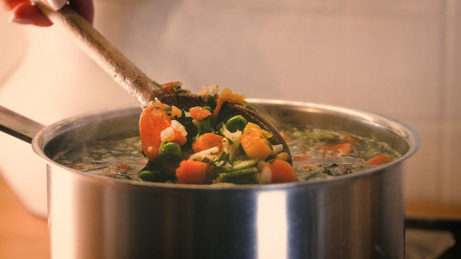 Close-up of fresh vegetables in bowl