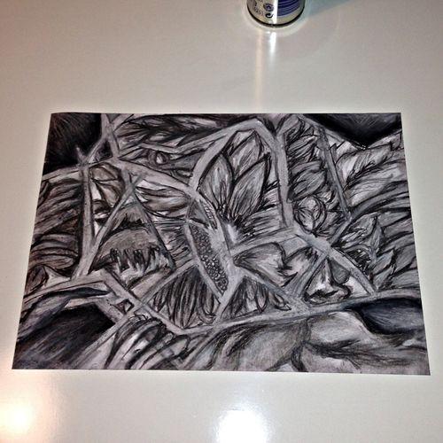 my new piece-chalk/charcoal hope you like!