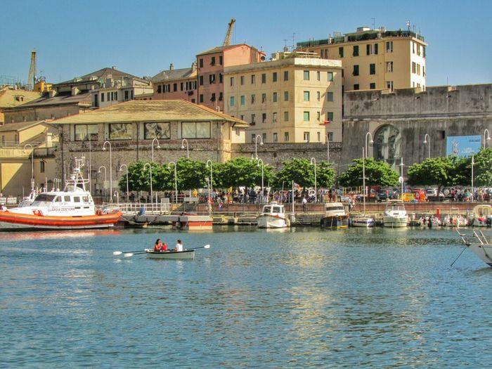 Old Port Against Buildings