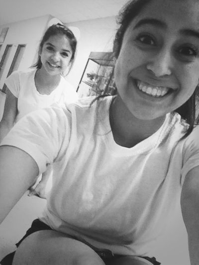 Cheer tryout a today with Mary grace they went great! ❤