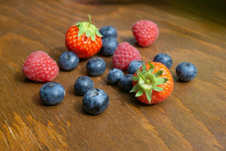 Strawberries,