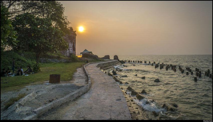 Sunset Landscape Seascape Kelor