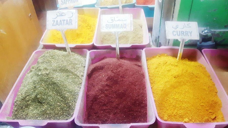 Choice Retail  For Sale Multi Colored Variation Market Stall Market No People Freshness Indoors  Powder Paint Day Holi Spices Spices Of The World Spices Food Jerusalem Jerusalem❤ Jerusalem Israel Jerusalemdaily curry Curry Zartar Israel Israel