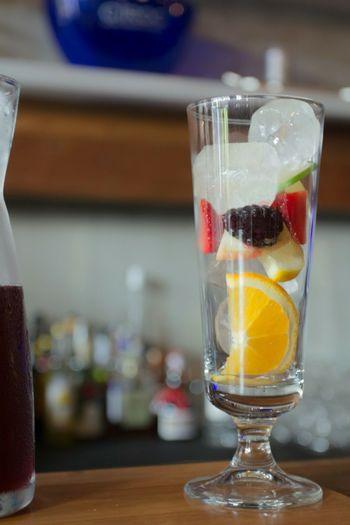 Sangria Cocktails Bartender Mixology