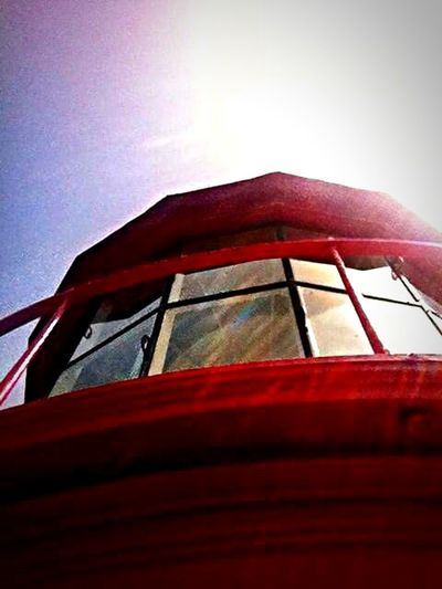 Lighthouse Red Outdoors Color Photography EyeEm Best Shots Popular Photos Enjoying Life Architecture Perspective