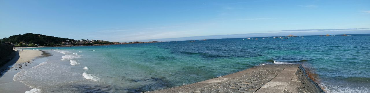 Panaromic Beautiful Nature Beach Photography Seaside Relaxing Enjoying The Sun Holiday
