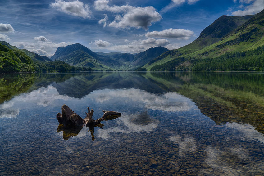 Buttermere Morning...No Tourists In Sight Beauty In Nature Cloud - Sky Lake Landscape Landscape_Collection Malephotographerofthemonth Mountain Mountain Range Nature No People Outdoors Reflection Reflection Reflections Scenics Sky Tranquil Scene Tranquility Water The Great Outdoors - 2017 EyeEm Awards TheWeek On EyEem