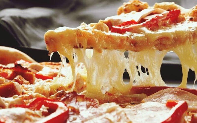 Food Photography Foodporn Pizza Cheesy Pizza Yummy♡