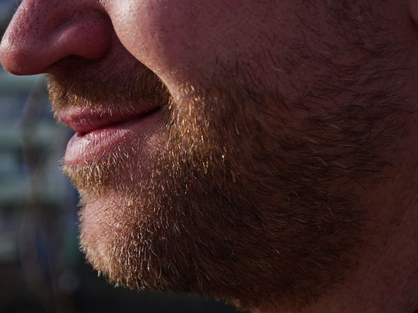 Adult Adults Only Beard Chin Close-up Day Human Body Part Human Face Human Lips Human Skin One Man Only One Person People Red Beard Young Adult