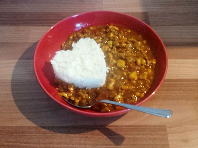Chilli xxxxxxx Nefilian Xxxxxxx Chilli Healthy Eating Riceworld Chill Gravy Tomatos Beans Quorn Heart ❤ Food Foodporn X