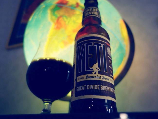 Craft Beer Craftbeer Greatdivide Yeti