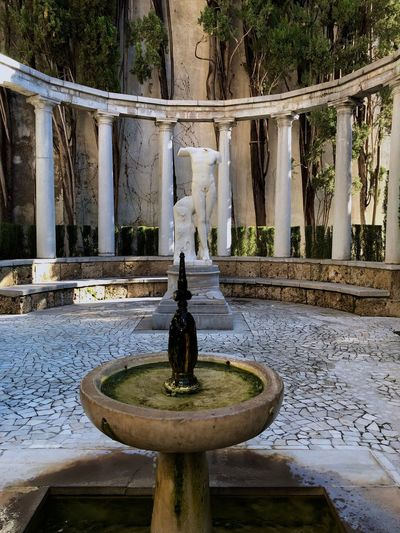 Baco's garden Greek Mythology Fountain Water Statue Sculpture Drinking Fountain Art And Craft Outdoors Architecture EyeEmNewHere EyeEm Ready