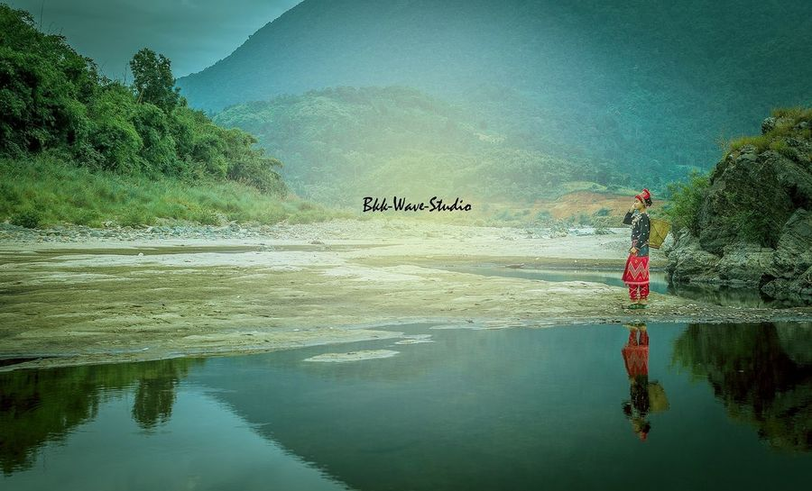 The dream of a girl... Yangon, Myanmar Bkkwavestudio Landscape_photography Travel Photography Potrait_photography Reflection_collection Water Reflections Landscape_photography