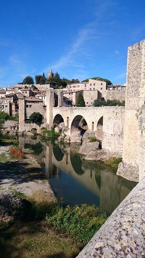 Original Photo Besalú Girona Catalunya Catalonia Pueblos De España Pueblos Con Encanto Puentes Medieval Architecture Medieval