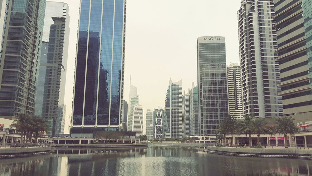 Hanging Out Architecture Cityscape Dubai Jumeirah Lake Towers JLT
