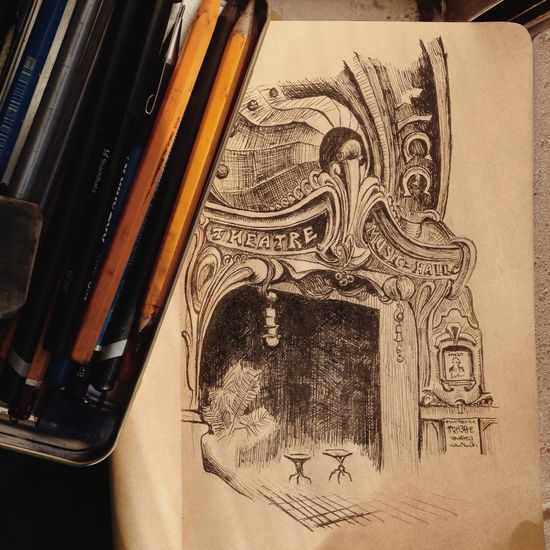 Drawing Drawing Architecture France Paris Art Travel Sketch Sketchbook