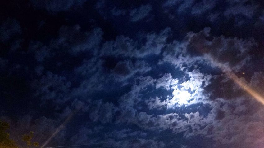 Fullmoon Cloudy Night Photography
