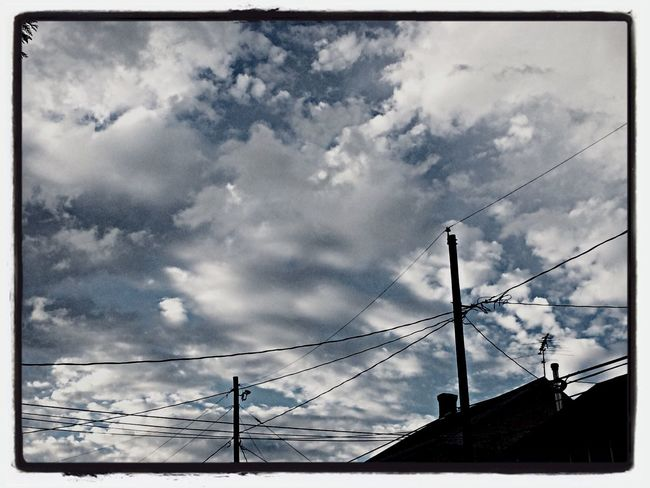 Look Up And Thrive CloudsCloudsClouds