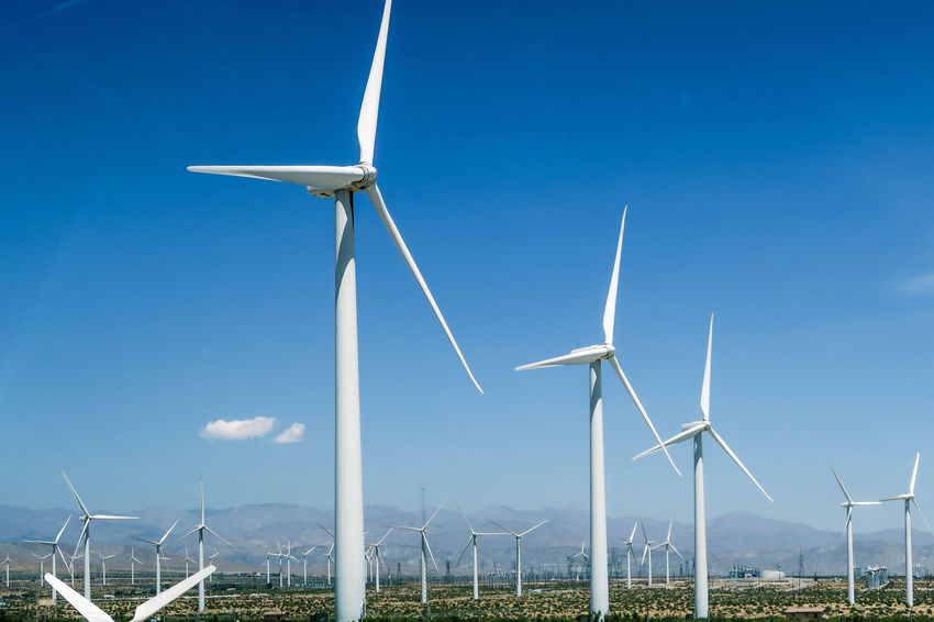 Wind turbine Alternative Energy Blue Day Efficiency Electricity  Environmental Conservation Field Fuel And Power Generation Industrial Windmill Nature No People Outdoors Power In Nature Power Supply Renewable Energy Rural Scene Sky Sustainable Resources Technology Traditional Windmill Turbine Wind Wind Power Wind Turbine Windmill