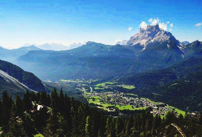 Mountain View Mountainview Dolomiti Mountain Landscape Nature Mountains Mountain_collection Mountains And Valleys Cadore Mountain Lover Lovemountains Dolomitiunesco Dolomites, Italy HOME 😍