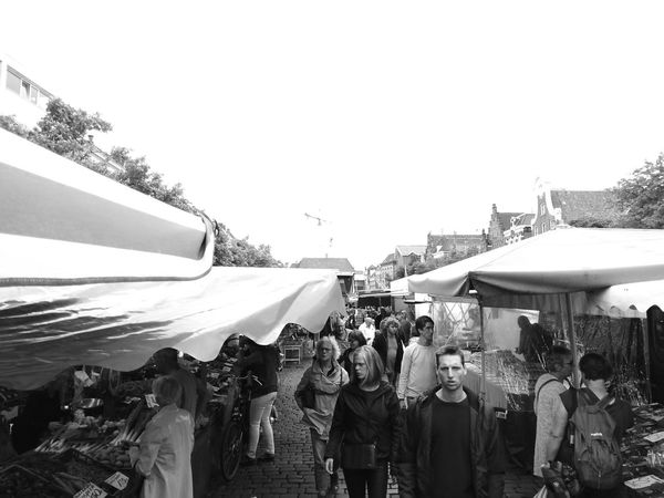 Arts Culture And Entertainment People Fish Market Leica Lens Blackandwhite