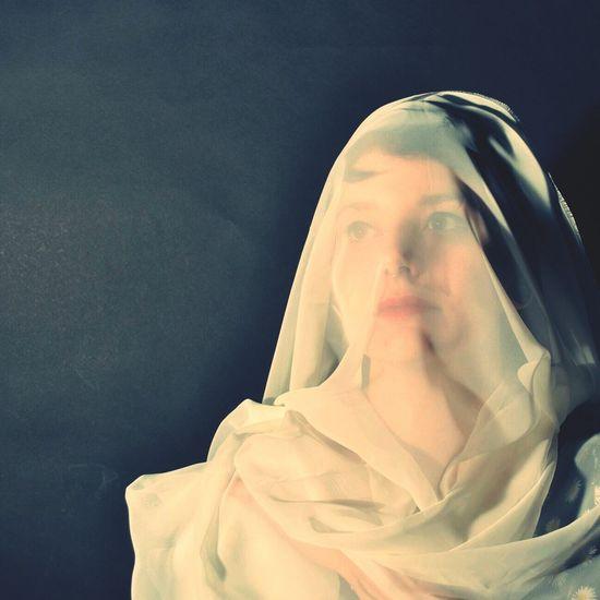 Self Portrait Portrait Shroud Fine Art Photography