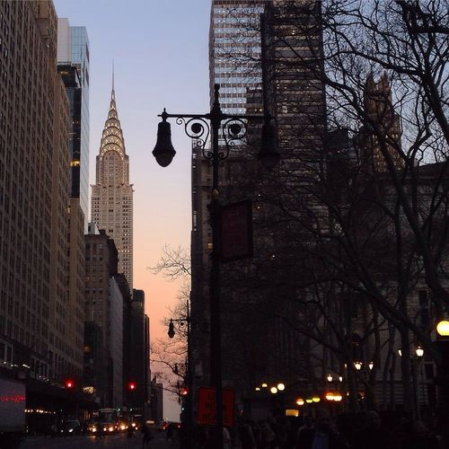 Crysler Building Cryslerbuilding Building Silhouette City NYC Photography NYC Bryant Park  Bryantpark New York City