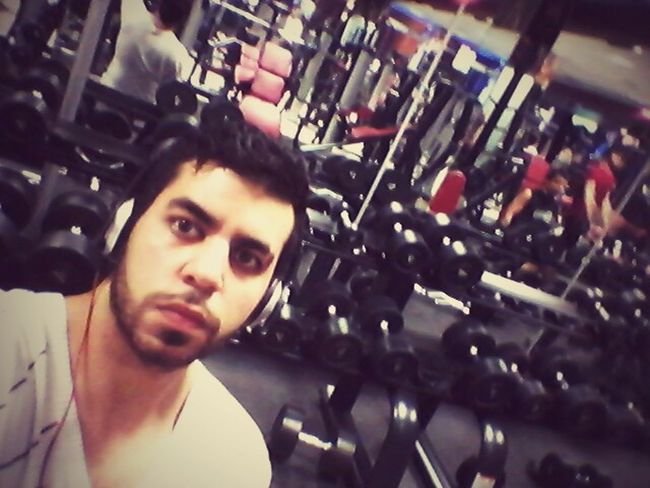 That's Me In The Gym Train Hard