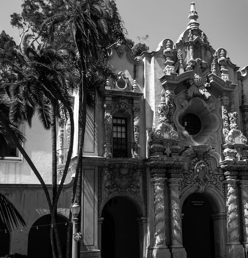 Architecture Balboa Park Building Exterior Façade Historic History Palm Trees San Diego