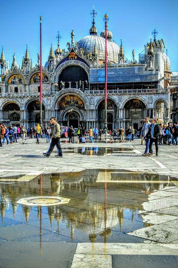 Sanmarco Saintmarksbasilica Venezia Venice Basilica Church Italy Italia Saintmarkssquare Photobydperry