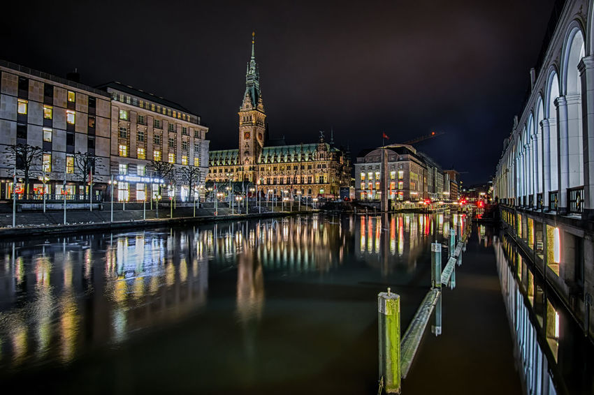 Showing some ambition will bring you into pole position. Night Lights Night Photography Illuminated Long Exposure Europe Hamburg City Life City Germany Travel Photography Hamburg Townhall Jungfernstieg Reflection Architecture Architecture_collection Long Exposure Night Lights Street Photography History Cityscape Outdoors Nightlife No People