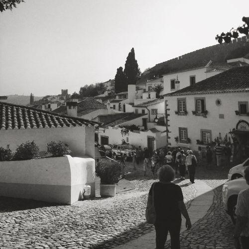 EyeEm Porto Óbidos  Walking Around Enjoying The Sun Photooftheday Blackandwhite Black And White Black & White Eye4photography  Photography B&w Street Photography