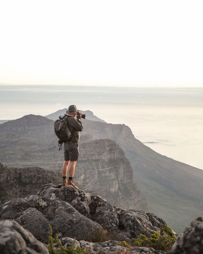 Adventurer Cape Town Cape Town, South Africa Explorer Lion's Head South Africa Sunset Table Mountain Travel Destinations Travel Photography