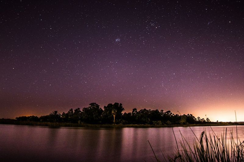 Star - Space Night Water Lake Galaxy Astronomy Reflection Nature Space Milky Way Sky Beauty In Nature Constellation Star Field No People Tree Scenics Outdoors