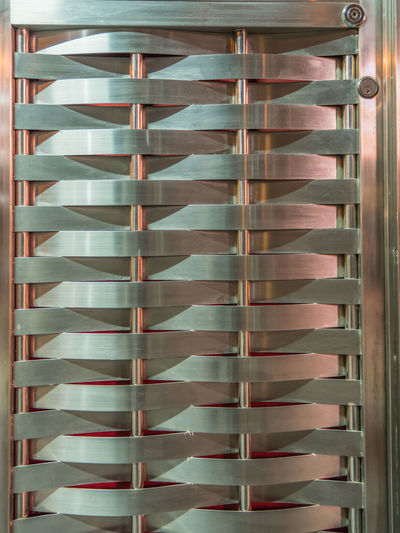 Abstract Aloy Arrangement Background Close Close Up Column Design Door Frame Gate Geometry Horizon In A Row Light LINE Lock Modern Row Shadows Shelf Stainless Symmetry Vertical Weave
