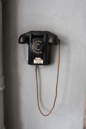 Russia Antique Cable Close-up Communication Connection Day Indoors  Landline Phone Metal No People Nostalgia Old Pay Phone Retro Styled Russian Still Life Technology Telecommunications Equipment Telephone Telephone Receiver Wall - Building Feature