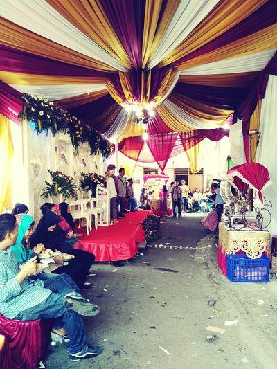Wedding ceremony in indonesia