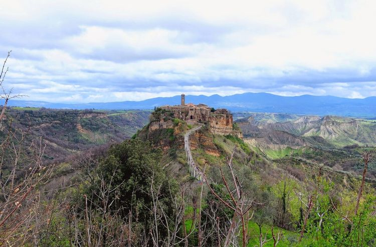 Civita Di Bagnoregio Travel Travel Destinations Tourism Beauty In Nature Landscape Nature Outdoors Cloud - Sky No People Vacations Urban Skyline Landscape_captures Urbanphotography Cityscape Beauty In Nature Architecture Travel Landscape_Collection Travel Photography Urban Landscape Miles Away The Secret Spaces The Great Outdoors - 2017 EyeEm Awards Place Of Heart
