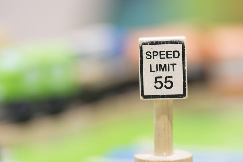 Speed Limit sign Wooden Toy Set - Play set Educational toys for preschool indoor playground(selective focus) Educational Toys Wooden Toy Wooden Toy Block Text Communication Sign Western Script Focus On Foreground Close-up No People Selective Focus Day Copy Space Outdoors Guidance Warning Sign Nature Single Object Road Sign Symbol Capital Letter Green Color Message Speed Limit Sign