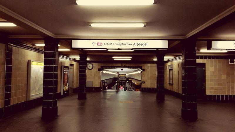 Underground Underground Station  Berlin Platz Der Luftbrücke Berlin Kreuzberg Sign Battle Of The Cities Embrace Urban Life Capture Berlin Traveling Home For The Holidays The Architect - 2017 EyeEm Awards