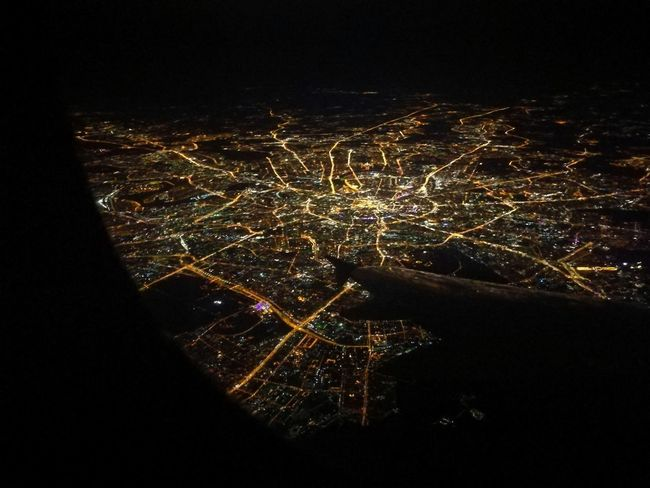 Moscow from above Plane City Night From Above  Illuminated Celebration Arts Culture And Entertainment Firework - Man Made Object Firework Display Long Exposure Exploding Sky
