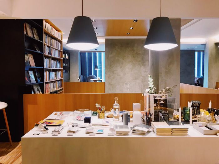 Bookstore Table Indoors  Lighting Equipment Business Arrangement Illuminated Furniture Large Group Of Objects Still Life Book Home Interior Shelf