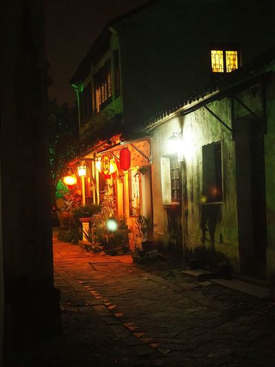 Overnight Success Tongli China China Travel Destination Night House Streetphotography Quiet Moments